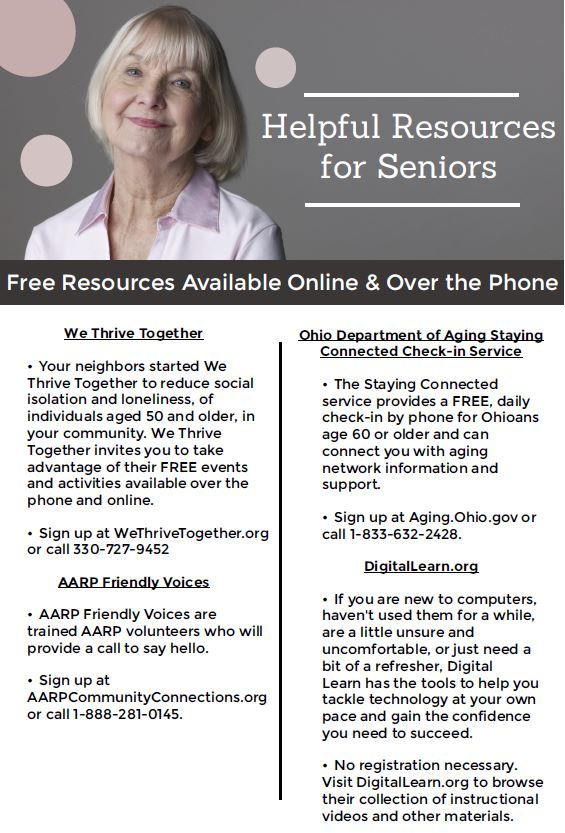 Helpful Resources for Seniors